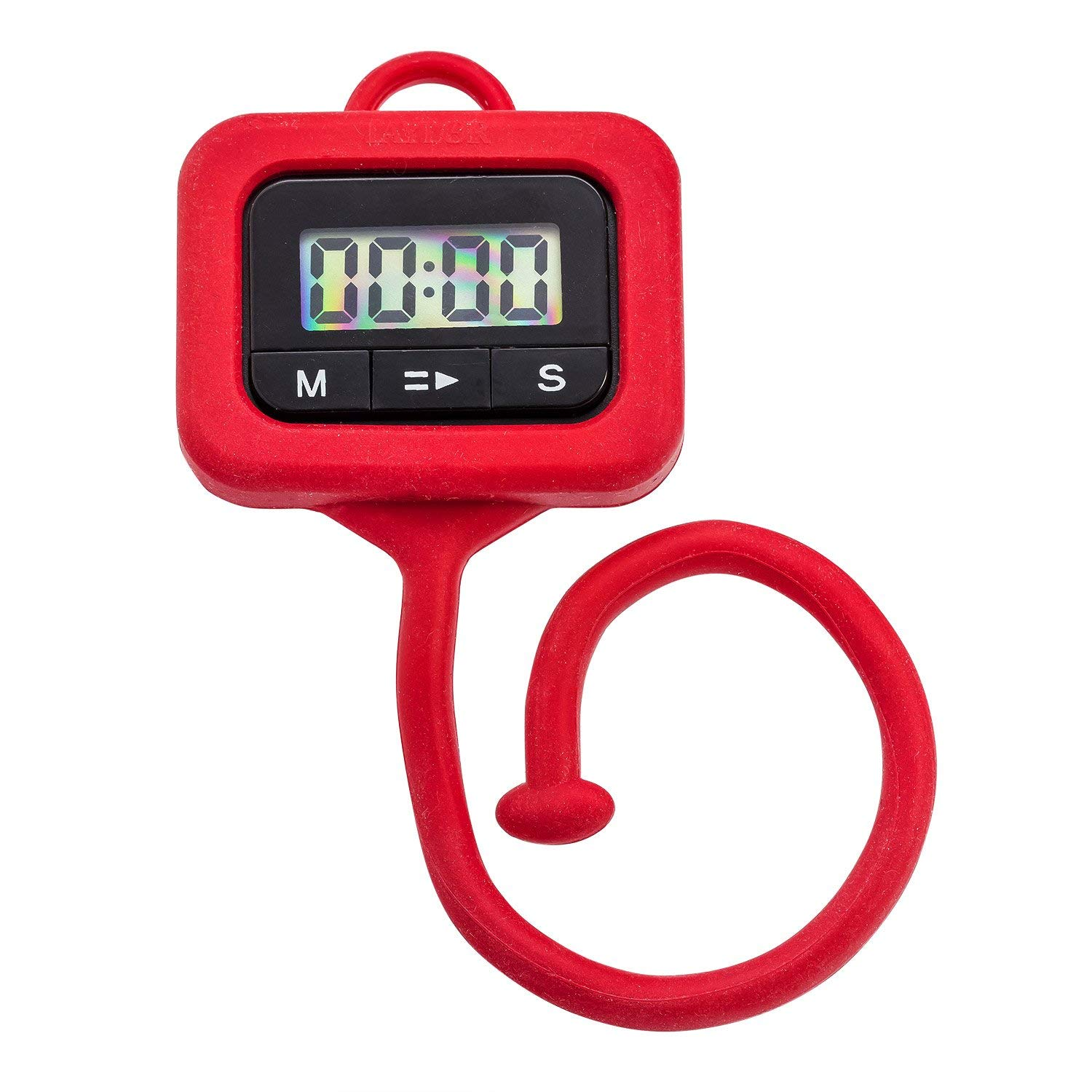 clip this portable kitchen timer to any nearby surface