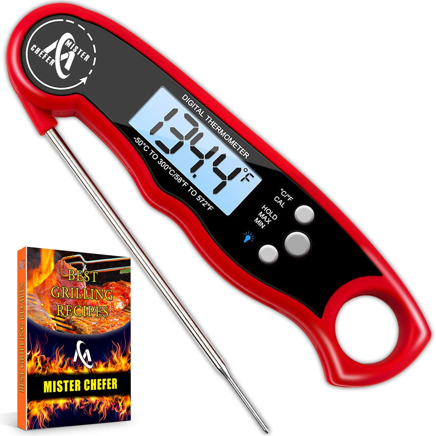 a waterproof food thermometer so you never ruin yours again