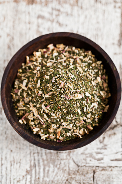 a spice blend that is perfect for mixing with olive oil