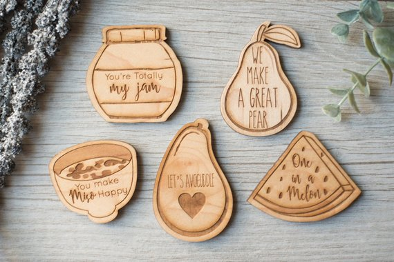funny food magnets make great stocking stuffers for foodies