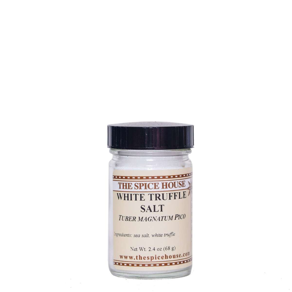 white truffle sea salt is a great stocking stuffer and adds flavor to any meal